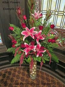 Altar Flowers - Example 13