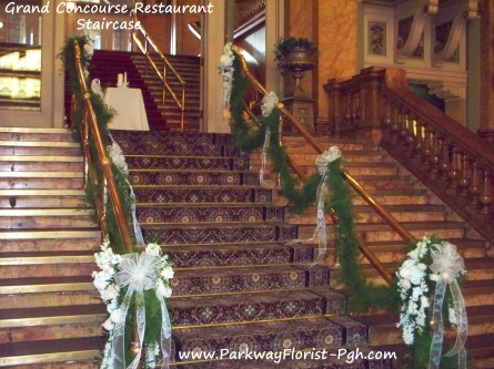 Grand Concourse Restaurant Staircase