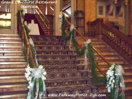 Grand Concourse Restaurant Staircase