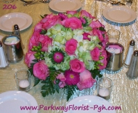 center pieces 206