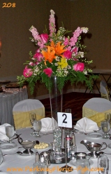 center pieces 208