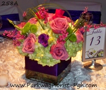 center pieces 258A