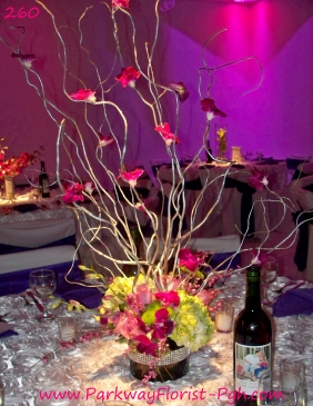 center pieces 260