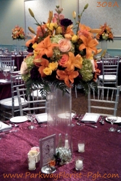 center pieces 308A
