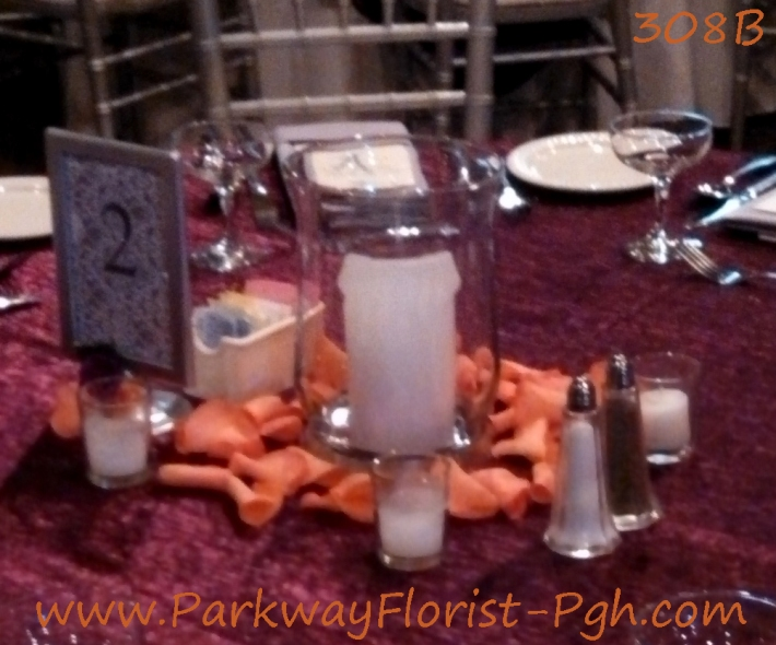 center pieces 308B