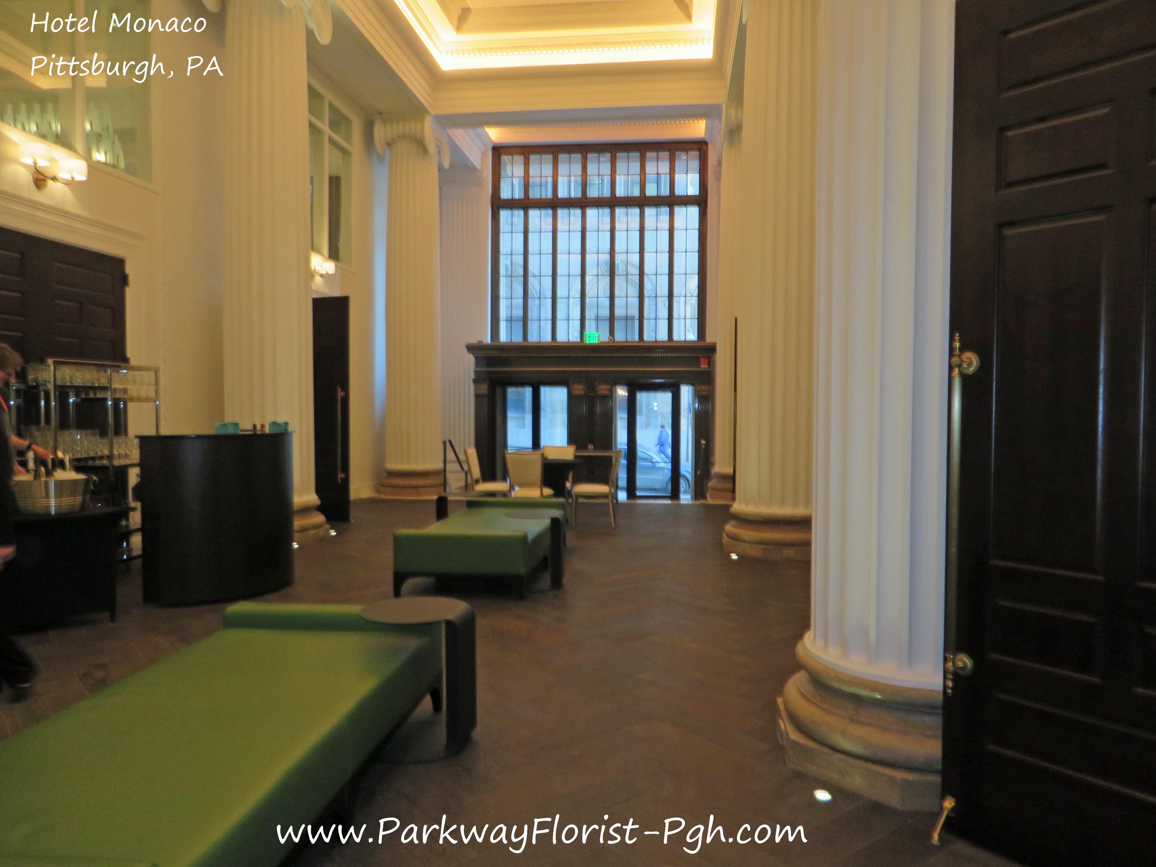 Hotel Monaco- Grand Beginnings!   Parkway Florist Pittsburgh Blog