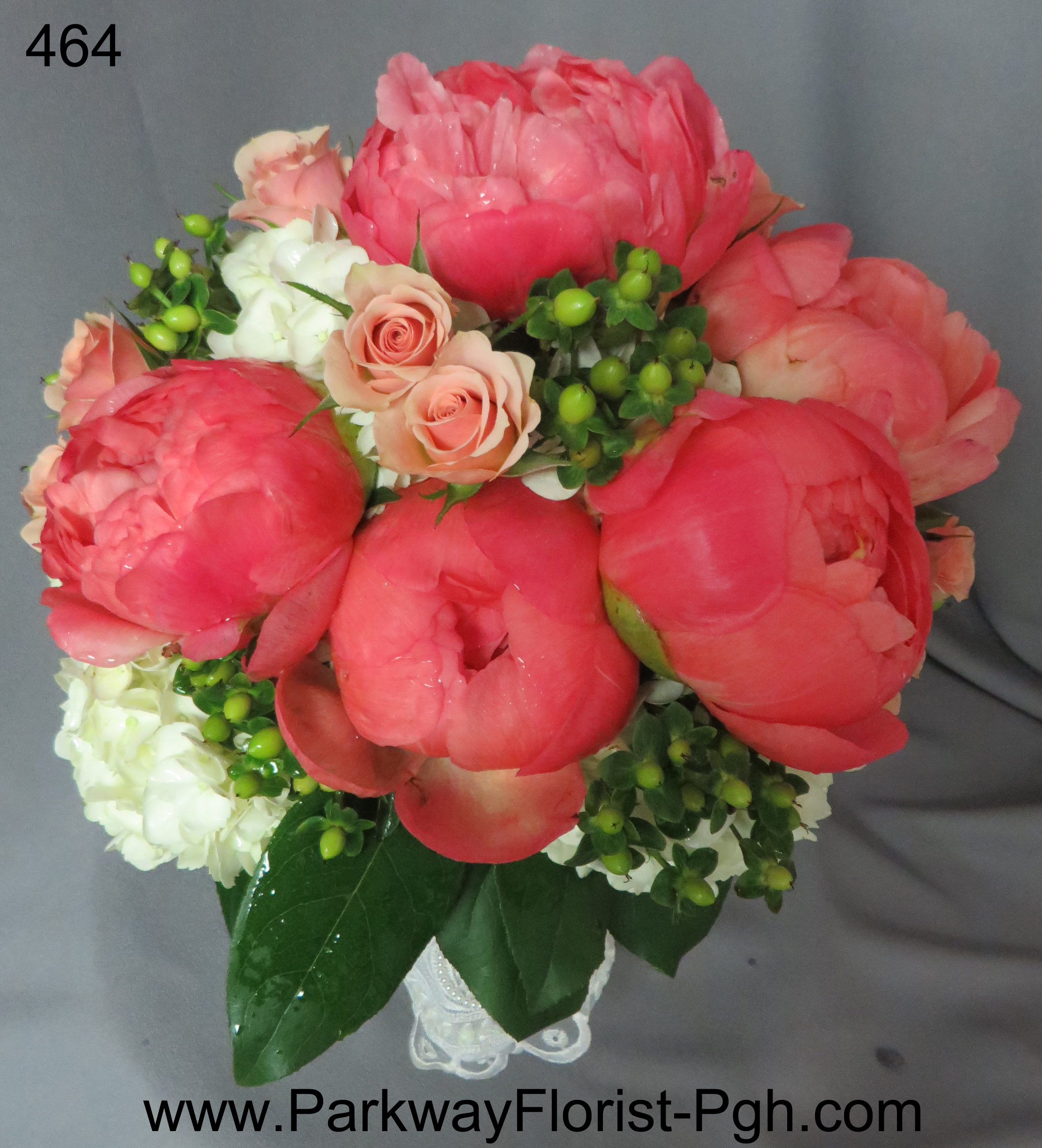 Coral was the color of the day! | Parkway Florist Pittsburgh Blog