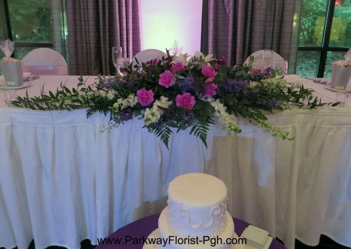Arch Top Transformed To Head Table Arr.