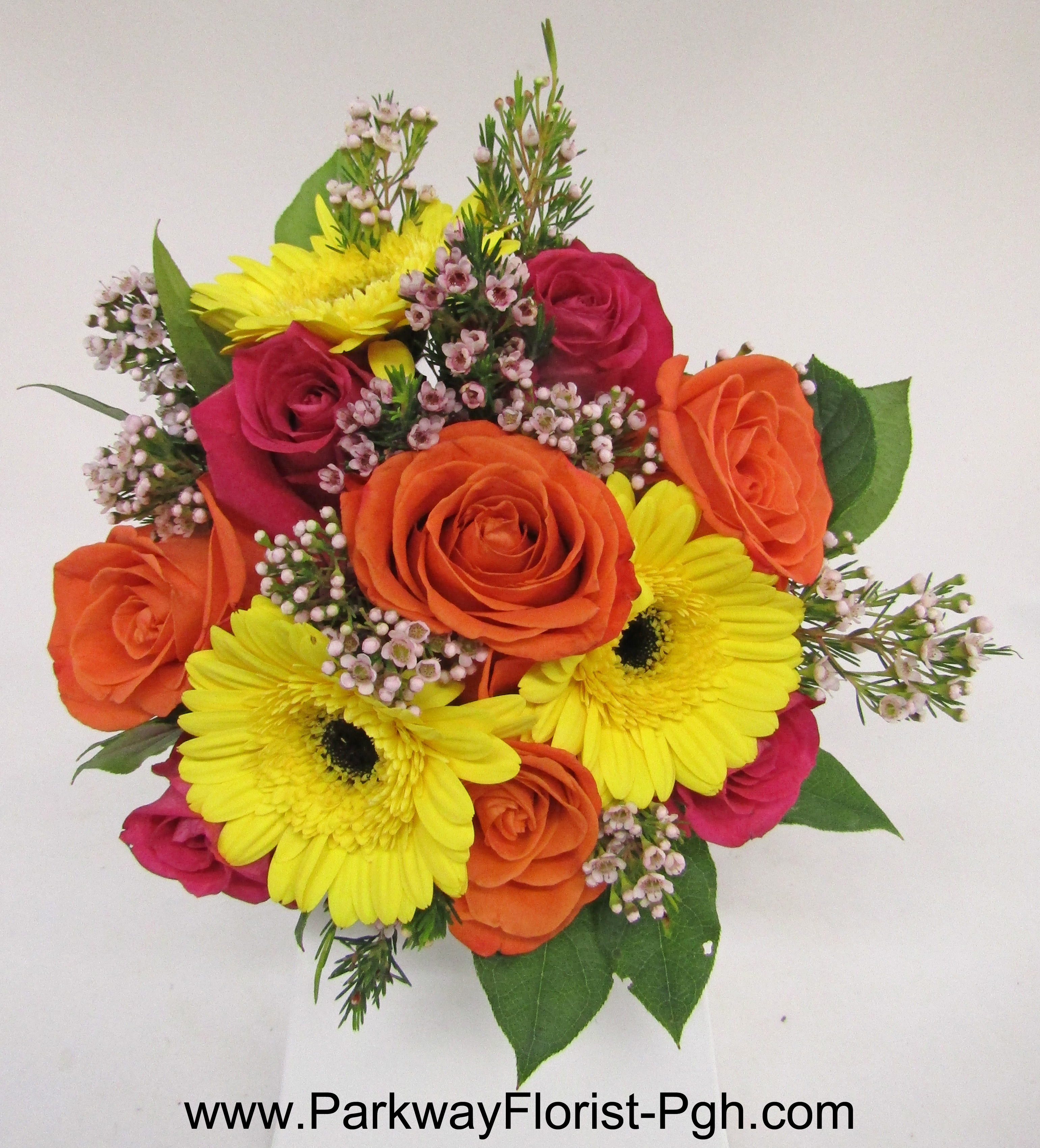 Tid bits parkway florist pittsburgh blog for the guys boutonnieres offer a fun pop of color and a chance to match their date izmirmasajfo