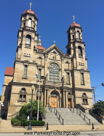St Peter Catholic Church Exterior Steubenville OH