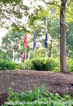 Korean War Memorial Flags