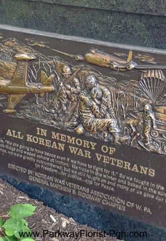 Korean War Memorial Plaque