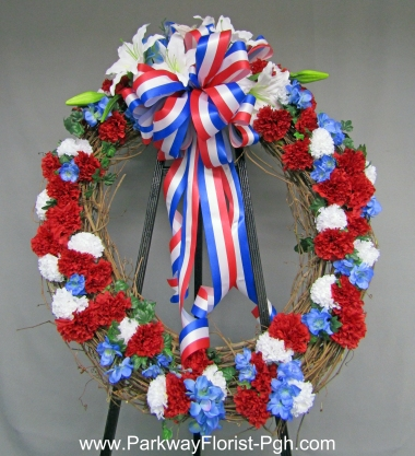 Korean War Memorial Wreath 2017