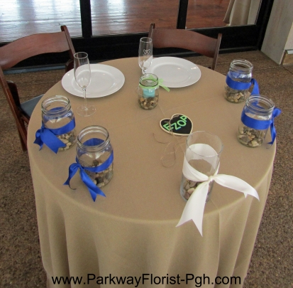 Pittsburgh Botanic Garden Sweetheart Table