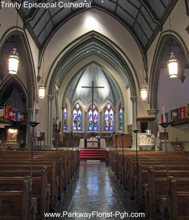 Trinity Episcopal Cathedral Interior