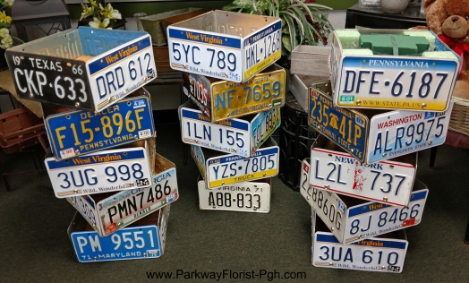 license plate boxes