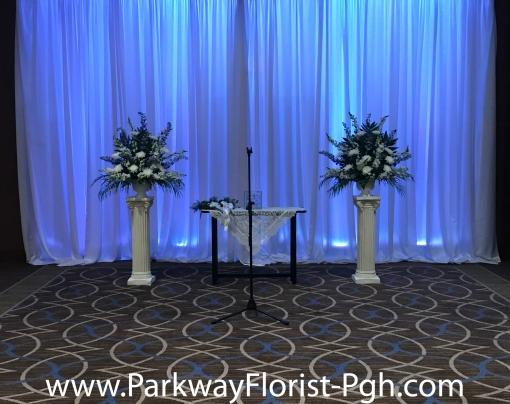 Indoor Ceremony Sheraton Pittsburgh Airport Hotel