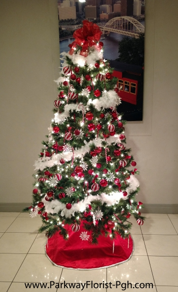 Marriott Candy Cane Tree