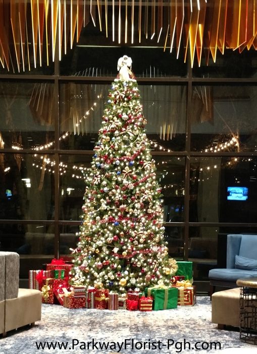 Marriott Lobby Tree with gifts.jpg