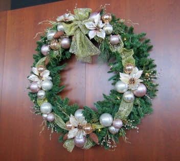 Monterey Bay Large Wreath