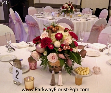 center pieces 540 B