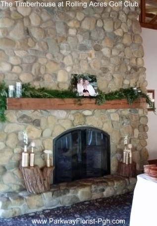 The Timberhouse at Rolling Acres Gold Club Fireplace